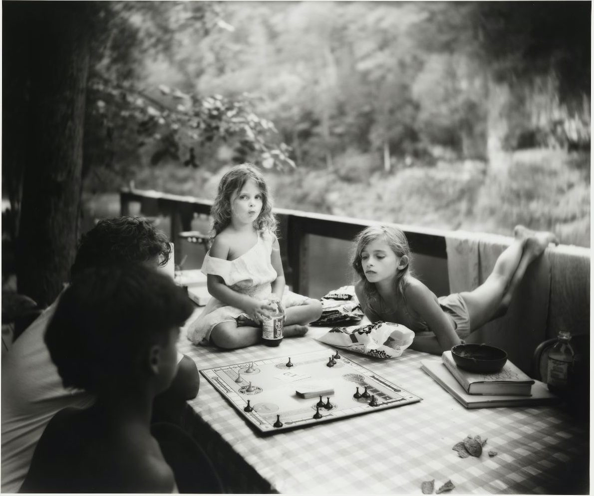 Sally Mann, Sorry Game, 1989, gelatin silver print, image: 19 ??? × 23 ???? inches, sheet: 19 15??? × 23 13??? inches. Whitney Museum of American Art, New York. © Sally Mann, image courtesy Whitney Mu