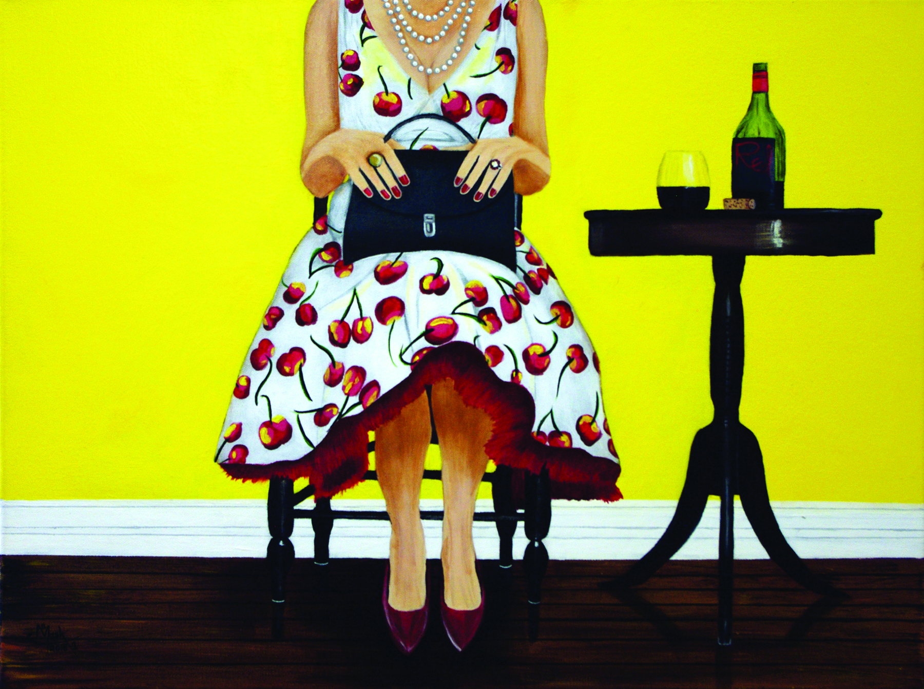 """I Drink Alone"" is part of the exhibit at the Gallery @ Barr Photographics."